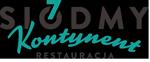 Logo restauracji 7 kontynent mieszczącej się na polskim wybrzeżu