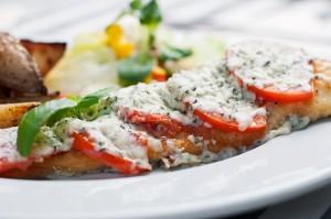 Dorsz zapiekany z serem - Dania rybne - Restauracja 7 kontynent