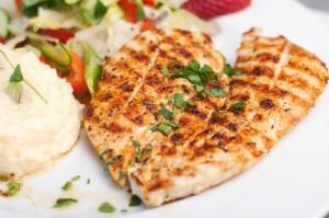 Filet z kurczaka z grilla - Dania mięsne - Restauracja 7 kontynent