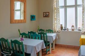 Wnętrze restauracji - tradycyjny wystrój