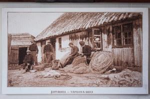 Jastarnia z dawnych lat - pocztówka