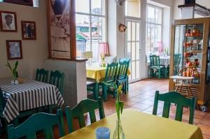 Sala restauracyjna - wystrój typowo morski